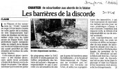 Article du Dauphiné - 30 nov 2006